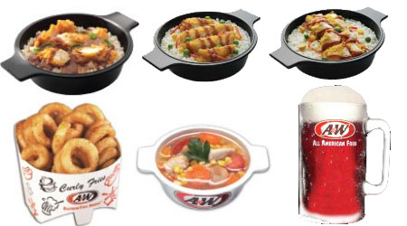 Daftar Harga Menu AW Indon A&W Indonesia Menu Delivery Jakarta