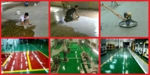 perusahaan kontraktor pemborong ahli epoxy coating untuk pabrik 300x150 Jasa Pengecatan Epoxy Lantai Pabrik Terbaik Bergaransi