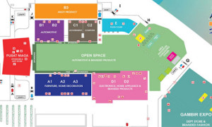 pameran peta denah pekan raya jakarta lengkap 300x180 Lokasi dan Jadwal PRJ Pekan Raya Jakarta Fair 2015 Kemayoran
