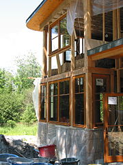 Foto: Colin Rose/Straw Bale House