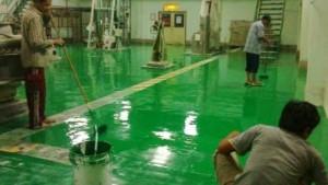 tukang jasa aplikator epoxy lantai injeksi beton