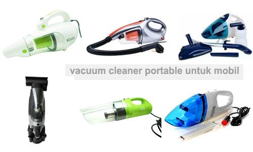 gambar contoh aneka vacuum cleaner portable mini yang bagus untuk mobil